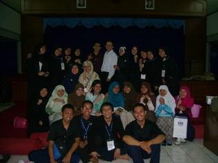 Alumnae Training Support (ATS). Pengalaman pertama jadi ATS di InHouse Training ITTelkom, Bandung. 6-7 Desember 2008.