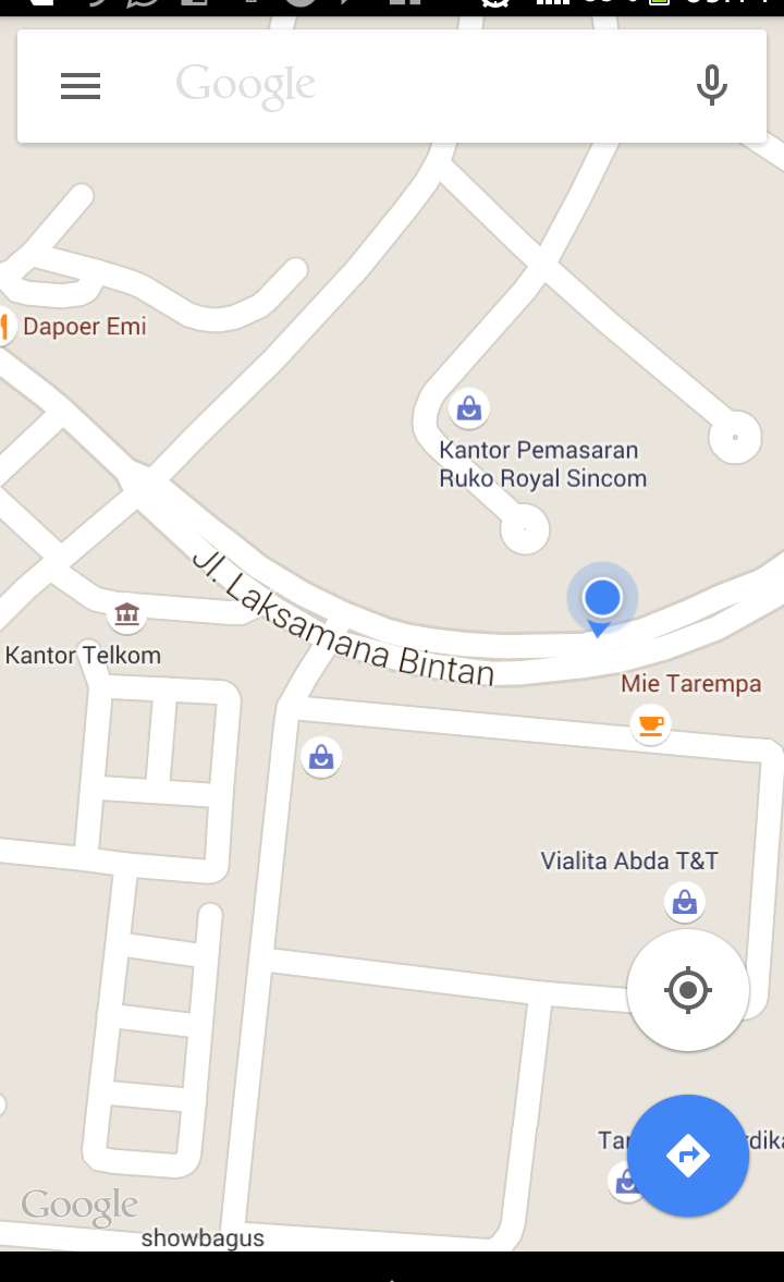 Lokasi Mie Tarempa Batam