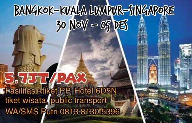 Wisata Ke 3 Negara Asia