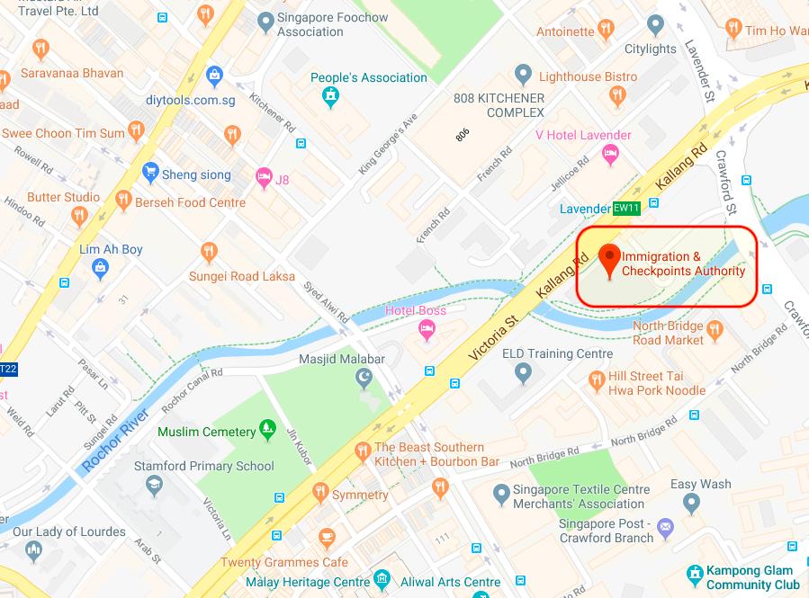 Lokasi Kantor ICA Di Lavender (klik gambar untuk membuka Google Maps)