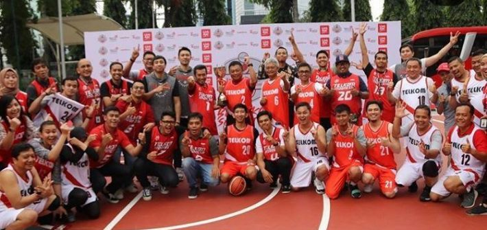 telkom group basketball team